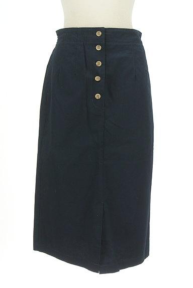 SM2(サマンサモスモス)の古着「フロントボタンミモレ丈タイトスカート(ロングスカート・マキシスカート)」大画像1へ