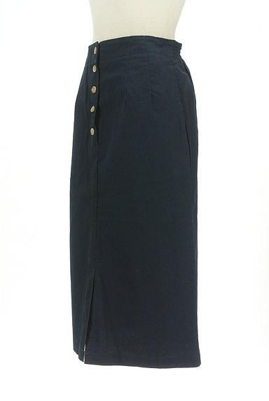 SM2(サマンサモスモス)の古着「フロントボタンミモレ丈タイトスカート(ロングスカート・マキシスカート)」大画像3へ