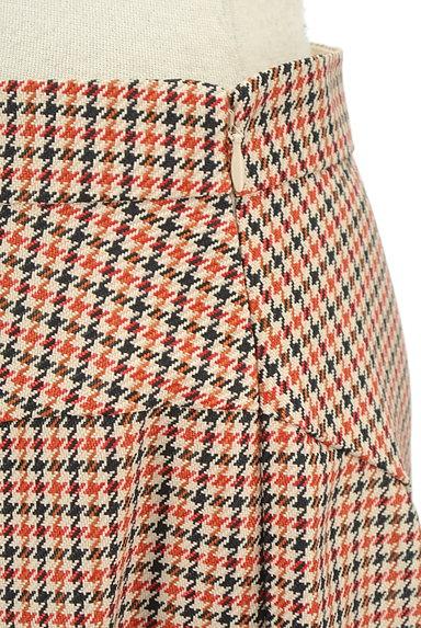 anatelier(アナトリエ)の古着「チェック柄ミモレ丈フレアスカート(ロングスカート・マキシスカート)」大画像4へ
