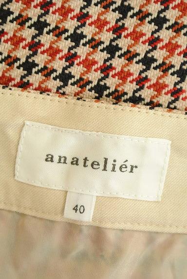 anatelier(アナトリエ)の古着「チェック柄ミモレ丈フレアスカート(ロングスカート・マキシスカート)」大画像6へ