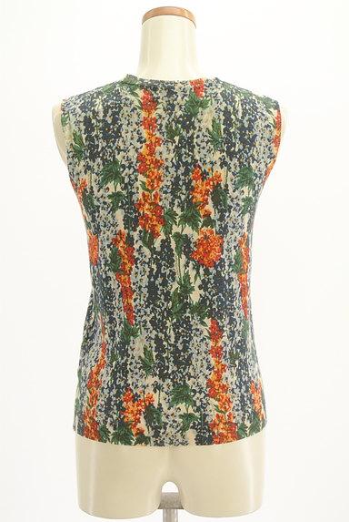 Lois CRAYON(ロイスクレヨン)の古着「総花柄タイトサマーニット(ニット)」大画像2へ