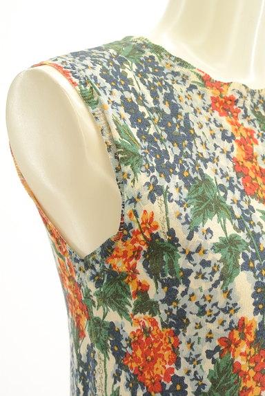 Lois CRAYON(ロイスクレヨン)の古着「総花柄タイトサマーニット(ニット)」大画像5へ
