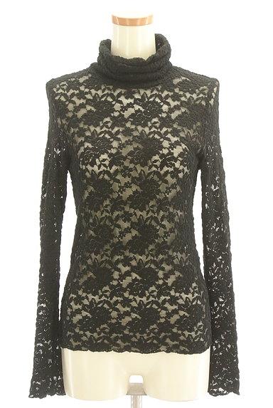 Lois CRAYON(ロイスクレヨン)の古着「総刺繍レースタートルネックカットソー(カットソー・プルオーバー)」大画像1へ