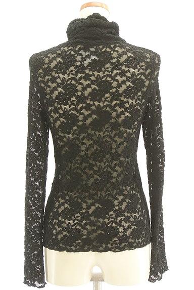 Lois CRAYON(ロイスクレヨン)の古着「総刺繍レースタートルネックカットソー(カットソー・プルオーバー)」大画像2へ
