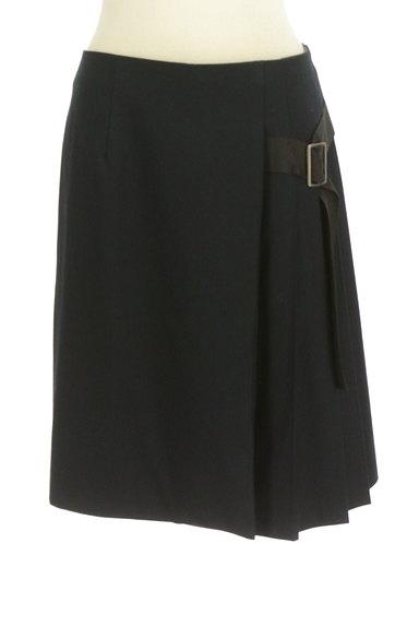 Lois CRAYON(ロイスクレヨン)の古着「サイドベルトプリーツフレアスカート(スカート)」大画像1へ