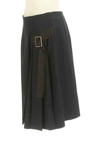 Lois CRAYON(ロイスクレヨン)の古着「サイドベルトプリーツフレアスカート(スカート)」大画像3へ