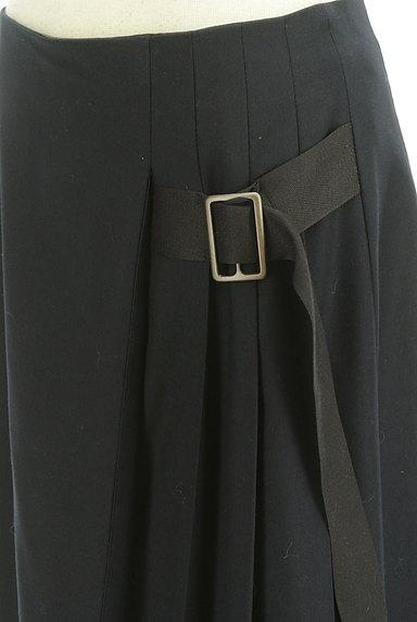 Lois CRAYON(ロイスクレヨン)の古着「サイドベルトプリーツフレアスカート(スカート)」大画像4へ