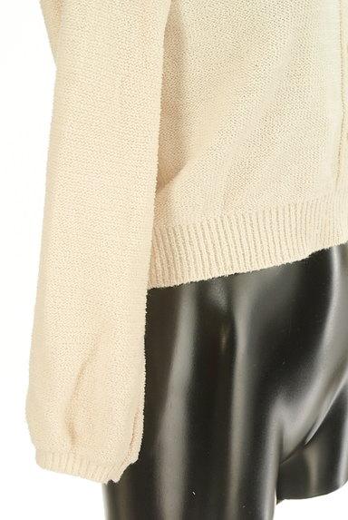 LIZ LISA(リズリサ)の古着「フリルレースニット(ニット)」大画像5へ