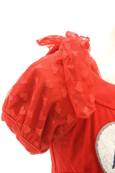 LIZ LISA(リズリサ)の古着「ハートワッペンガーリーニット(ニット)」大画像4へ