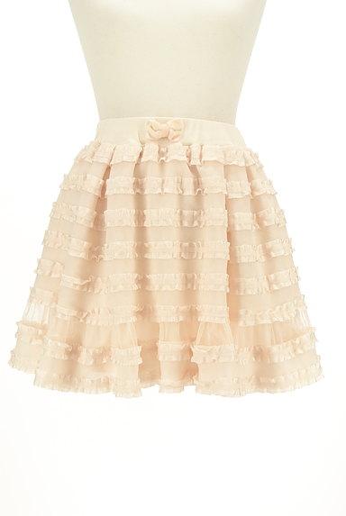LIZ LISA(リズリサ)の古着「フリルミニフレアスカート(ミニスカート)」大画像1へ