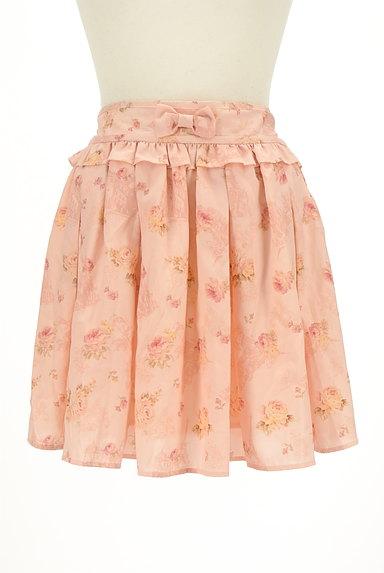 LIZ LISA(リズリサ)の古着「花柄フリルシフォンスカート(ミニスカート)」大画像1へ