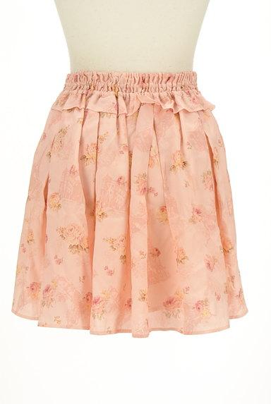 LIZ LISA(リズリサ)の古着「花柄フリルシフォンスカート(ミニスカート)」大画像2へ