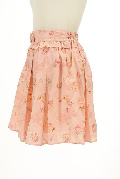 LIZ LISA(リズリサ)の古着「花柄フリルシフォンスカート(ミニスカート)」大画像3へ