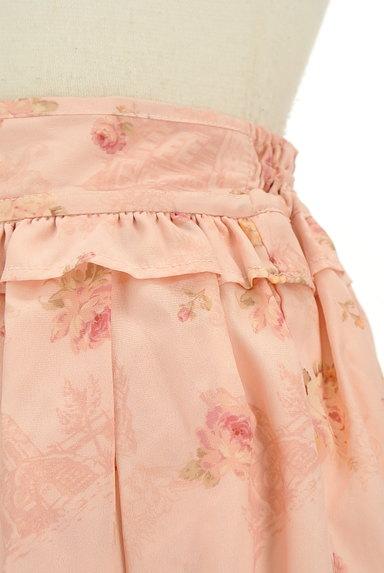 LIZ LISA(リズリサ)の古着「花柄フリルシフォンスカート(ミニスカート)」大画像4へ