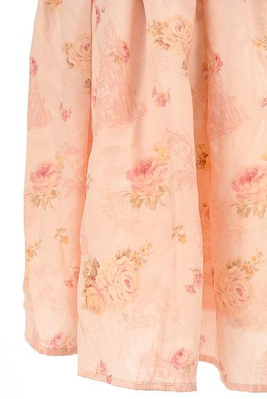 LIZ LISA(リズリサ)の古着「花柄フリルシフォンスカート(ミニスカート)」大画像5へ