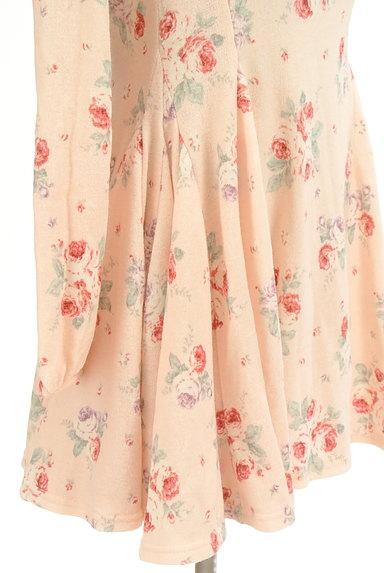 LIZ LISA(リズリサ)の古着「ドットチュール花柄ワンピース(ワンピース・チュニック)」大画像5へ