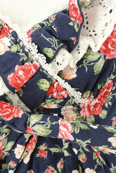 LIZ LISA(リズリサ)の古着「バラ柄コンビネゾン(コンビネゾン・オールインワン)」大画像4へ