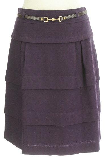 matrice BY VOICEMAIL(マトリーチェバイヴォイスメール)の古着「ベルト付きティアードフリルスカート(スカート)」大画像1へ