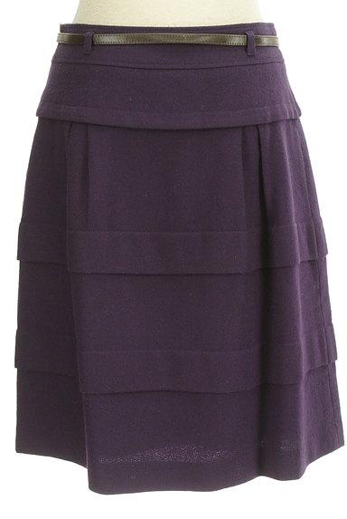 matrice BY VOICEMAIL(マトリーチェバイヴォイスメール)の古着「ベルト付きティアードフリルスカート(スカート)」大画像2へ
