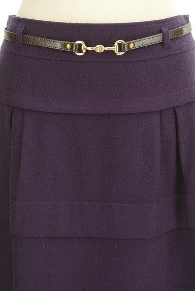 matrice BY VOICEMAIL(マトリーチェバイヴォイスメール)の古着「ベルト付きティアードフリルスカート(スカート)」大画像4へ