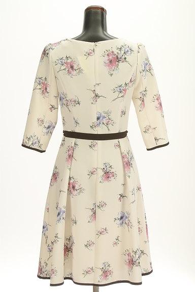 LAISSE PASSE(レッセパッセ)の古着「七分袖花柄ワンピース(ワンピース・チュニック)」大画像2へ