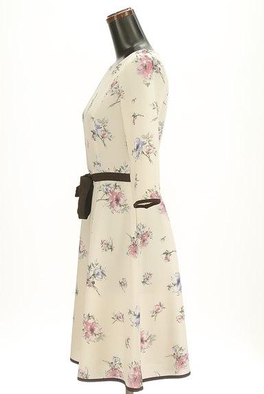 LAISSE PASSE(レッセパッセ)の古着「七分袖花柄ワンピース(ワンピース・チュニック)」大画像3へ