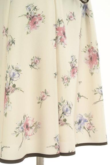 LAISSE PASSE(レッセパッセ)の古着「七分袖花柄ワンピース(ワンピース・チュニック)」大画像5へ