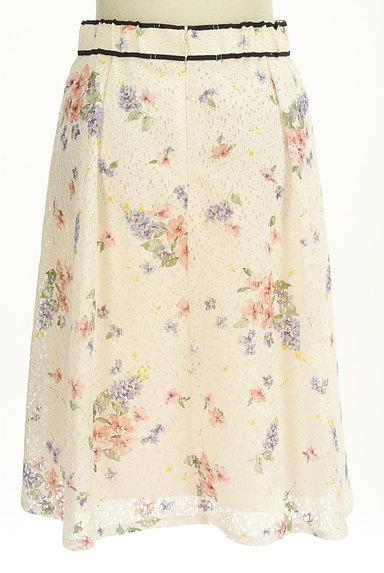 LAISSE PASSE(レッセパッセ)の古着「花柄レースフレアスカート(スカート)」大画像2へ