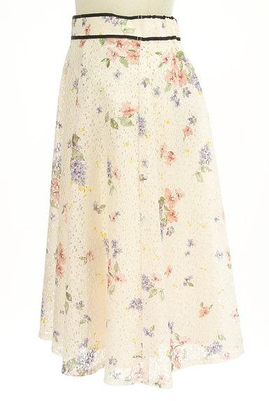 LAISSE PASSE(レッセパッセ)の古着「花柄レースフレアスカート(スカート)」大画像3へ