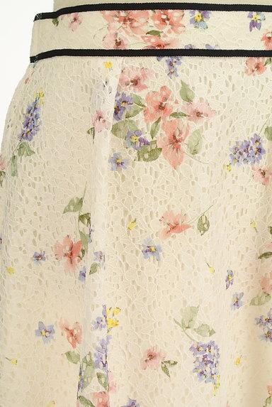 LAISSE PASSE(レッセパッセ)の古着「花柄レースフレアスカート(スカート)」大画像4へ