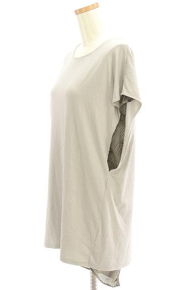 soeur7(スール)の古着「シフォンアクセントロングカットソー(カットソー・プルオーバー)」大画像3へ