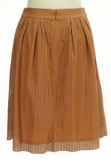 LOUNIE(ルーニィ)の古着「カッティングレザースカート(スカート)」大画像2へ