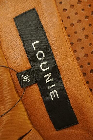 LOUNIE(ルーニィ)の古着「カッティングレザースカート(スカート)」大画像6へ