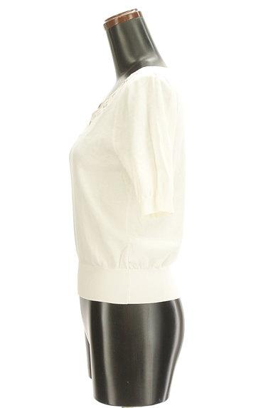 LAISSE PASSE(レッセパッセ)の古着「花刺繍スカラップニット(ニット)」大画像3へ