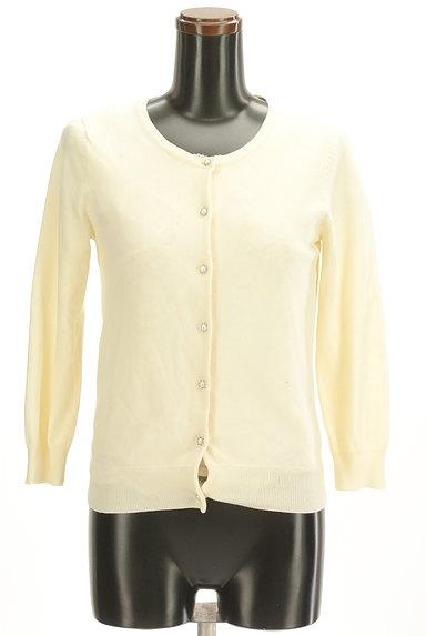 LAISSE PASSE(レッセパッセ)の古着「刺繍レース半袖+カーディガン(アンサンブル)」大画像1へ