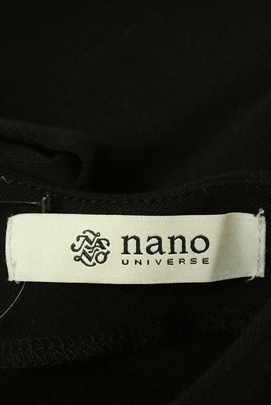 nano・universe(ナノユニバース)の古着「バックリボンVネックシンプルワンピ(ワンピース・チュニック)」大画像6へ