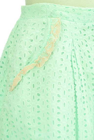 Par Avion(パラビオン)の古着「カットワーク刺繍ミニスカート(ミニスカート)」大画像4へ
