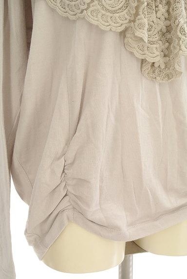 H.A.K(ハク)の古着「刺繍レースフリルカットソー(カットソー・プルオーバー)」大画像5へ