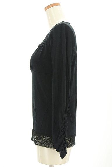 axes femme(アクシーズファム)の古着「スクエアネックレースカットソー(カットソー・プルオーバー)」大画像3へ