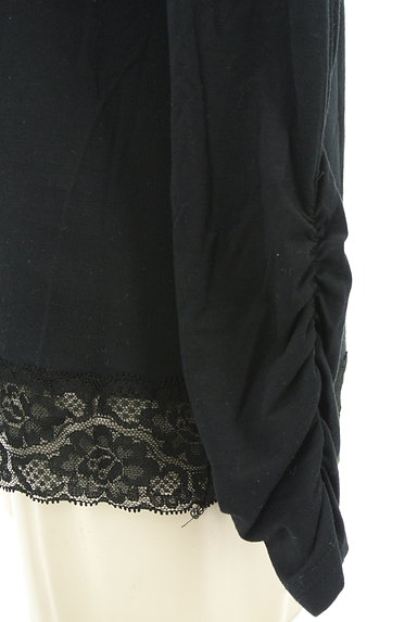 axes femme(アクシーズファム)の古着「スクエアネックレースカットソー(カットソー・プルオーバー)」大画像4へ