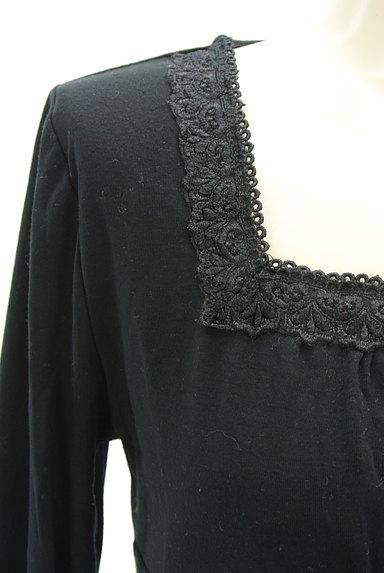 axes femme(アクシーズファム)の古着「スクエアネックレースカットソー(カットソー・プルオーバー)」大画像5へ