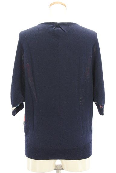 SHIPS(シップス)の古着「フロントサテン七分袖カーデ(カーディガン・ボレロ)」大画像2へ