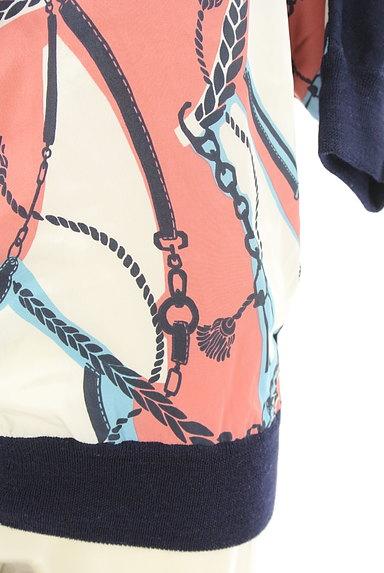 SHIPS(シップス)の古着「フロントサテン七分袖カーデ(カーディガン・ボレロ)」大画像5へ