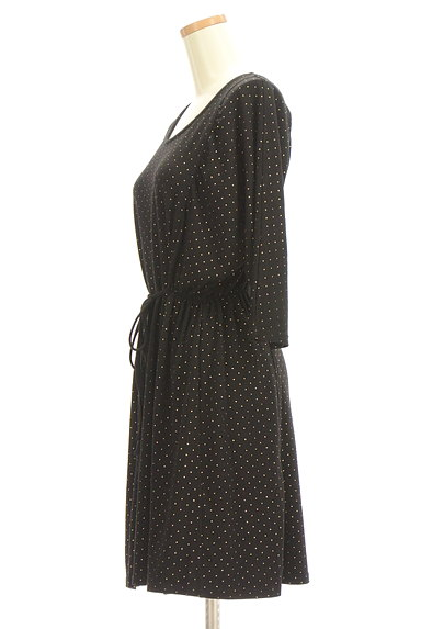 BEAMS Women's(ビームス ウーマン)の古着「スタッズドットワンピース(ワンピース・チュニック)」大画像3へ