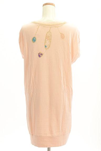 TSUMORI CHISATO(ツモリチサト)の古着「ビジュー+ラメプリントロングTシャツ(Tシャツ)」大画像2へ