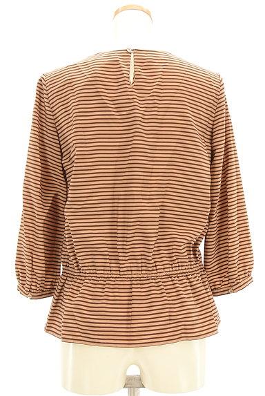 NOLLEY'S(ノーリーズ)の古着「裾リボンボーダーカットソー(カットソー・プルオーバー)」大画像2へ