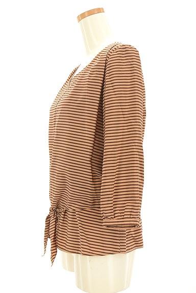 NOLLEY'S(ノーリーズ)の古着「裾リボンボーダーカットソー(カットソー・プルオーバー)」大画像3へ