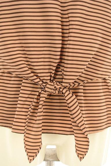 NOLLEY'S(ノーリーズ)の古着「裾リボンボーダーカットソー(カットソー・プルオーバー)」大画像4へ