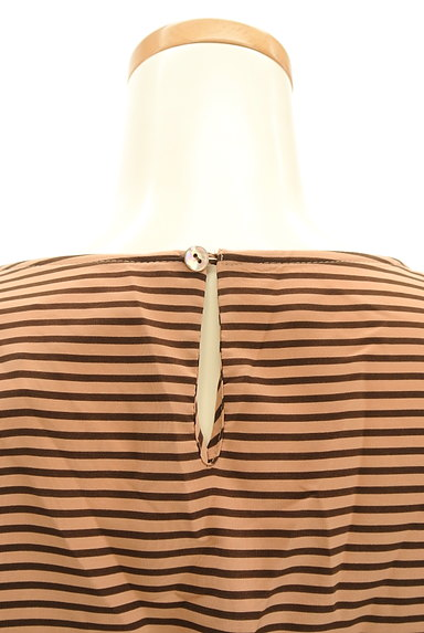 NOLLEY'S(ノーリーズ)の古着「裾リボンボーダーカットソー(カットソー・プルオーバー)」大画像5へ