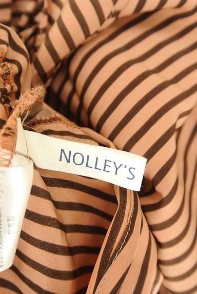 NOLLEY'S(ノーリーズ)の古着「裾リボンボーダーカットソー(カットソー・プルオーバー)」大画像6へ